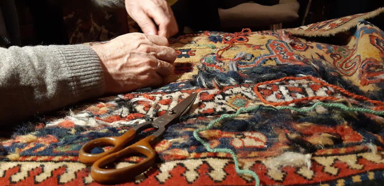 Riparare un tappeto
