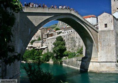 BOSNIA ponte di Mostar oggi