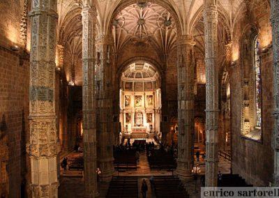 PORTOGALLO Monastero dos Jeronimos a Lisbona
